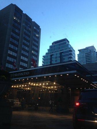 Park Hyatt Toronto: Outside the hotel