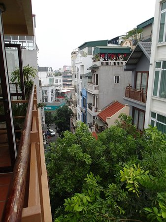 Artisan Boutique Hotel : View from balcony