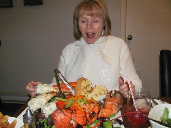 The Lobster Pound And Moore: I seriously could not believe the food on that plate.