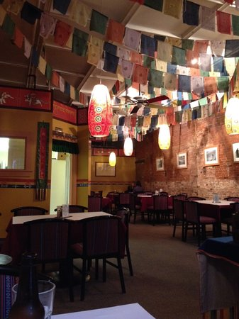 Interior of Himalaya Restaurant - Loved the décor!
