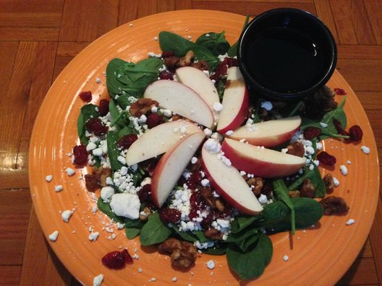 Delaney's Hole in the Wall: Spinach Salad