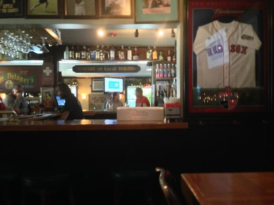 Delaney's Hole in the Wall: In the bar