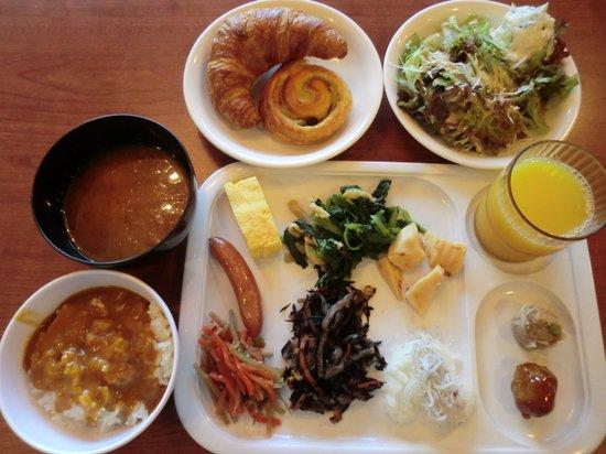 Ace Inn Kariya: 朝食