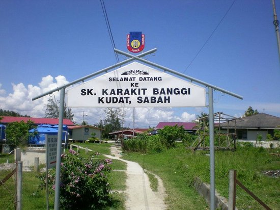 Kudat Division, Malezja: Good school for young generations of Banggi Island