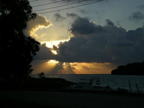 Kudat Division, Malezja: Sunset is always fantastic to see....