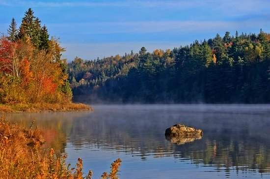 St. Stephen, Canada: Early morning river view