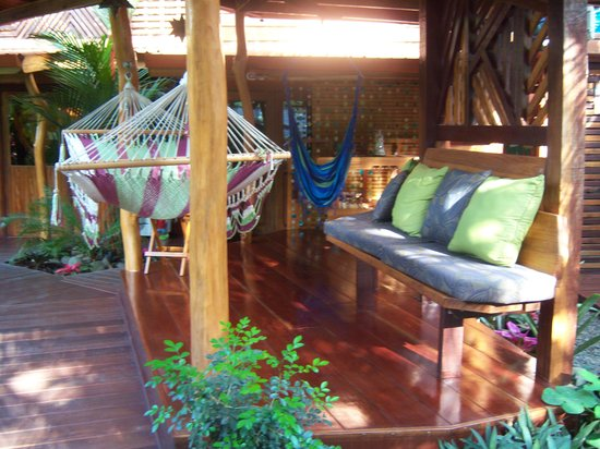 Physis Caribbean Bed & Breakfast : relaxing hammock