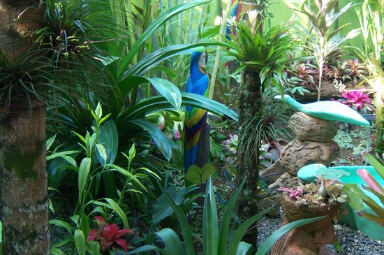 Physis Caribbean Bed & Breakfast: stunning garden