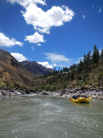 Activities Peru: Beatiful day for Rafting !!!