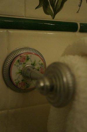 Blantyre: Details in the Bathroom - Towel Rack