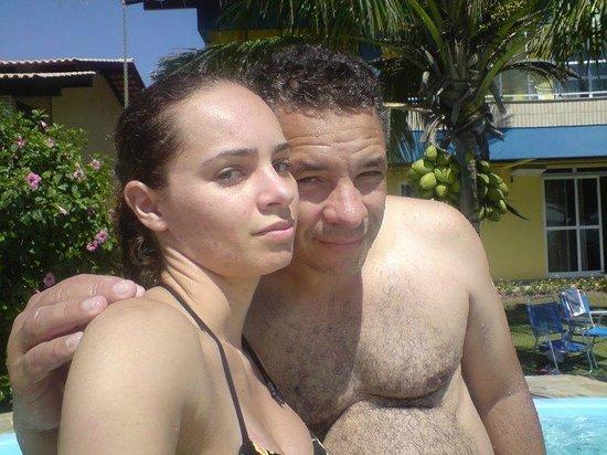 Pousada Dom Capudi: Com minha filha...