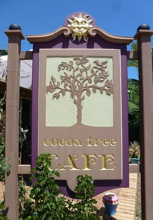 The Cocoa Tree Cafe: Beautiful sign
