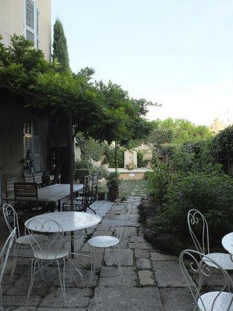 Maison Trevier : Backyard