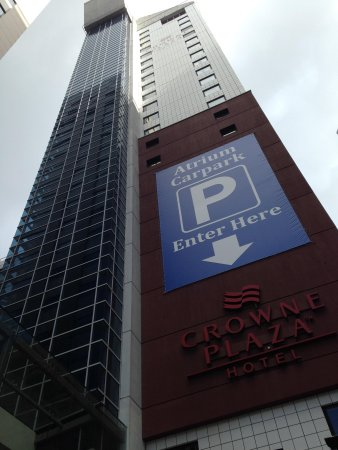 Crowne Plaza Auckland : Hotel Exterior