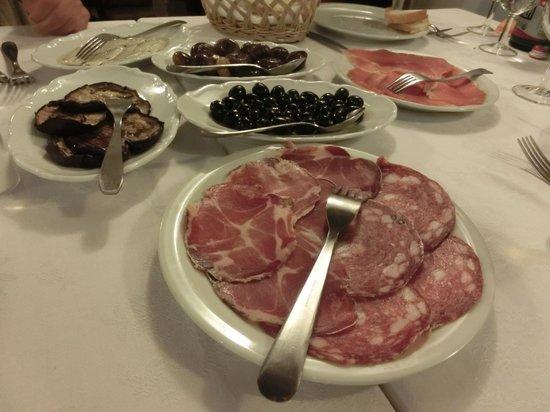 La Dogana: 前菜