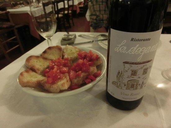 La Dogana: ハウスワイン