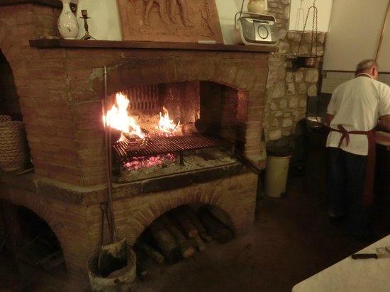 La Dogana: ここで調理