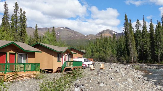 McKinley Creekside Cabins: Cabins & Views