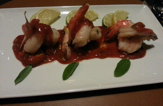 Sage Steakhouse @ Kickapoo Lucky Eagle Casino : Shrimp Coctail at Sage Steakhouse