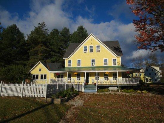 RiverWood Inn on a fall day