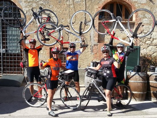 Cicloposse Bike Tours : The Finish Line
