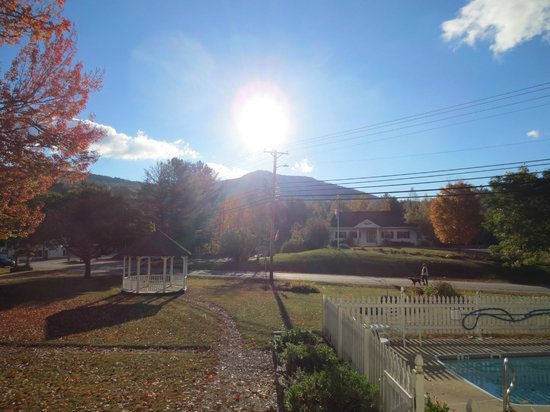 RiverWood Inn: Sunny view from front porch