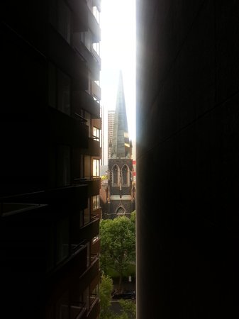 Grand Chancellor Melbourne : View from our balcony.