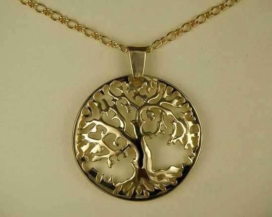 Tree of life pendant gold picture of spiral creations jewellery spiral creations jewellery tree of life pendant gold aloadofball Image collections