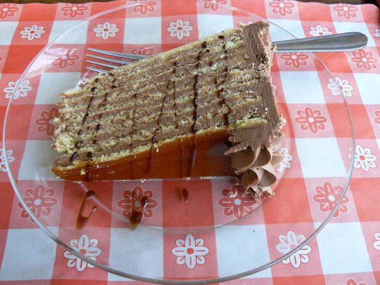 Balaton Restaurant: Eight layers of cake
