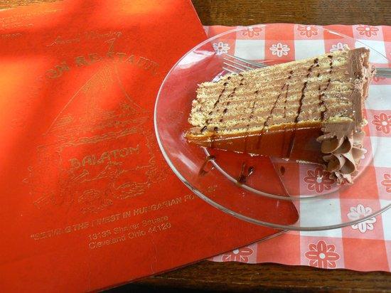 Balaton Restaurant: Dobos Torta