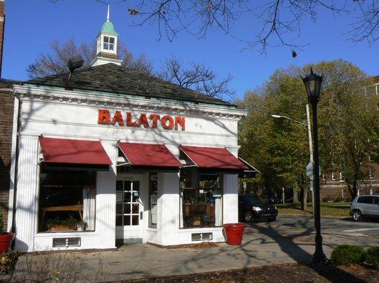 Balaton Restaurant: Outside view