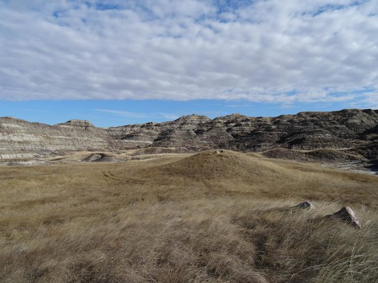 Horsethief Canyon: View from inside the canyon.