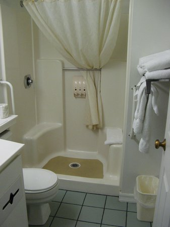 Americas Best Value Inn & Suites Sikeston MO: Bathroom