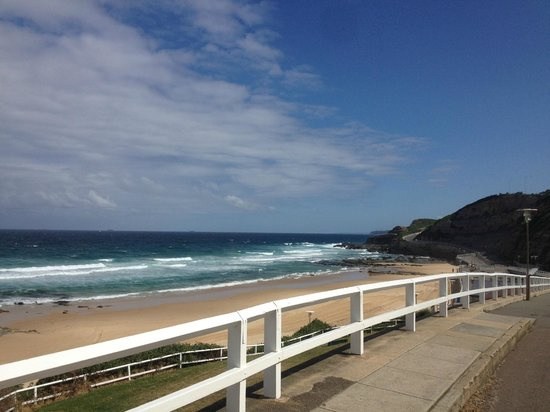 Novotel Newcastle Beach: Across the road
