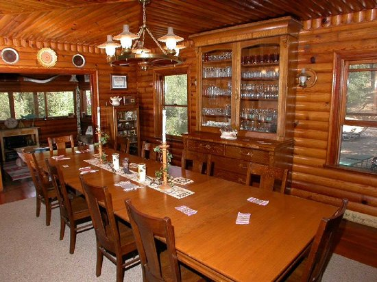 Indian Creek B&B: Dining Room