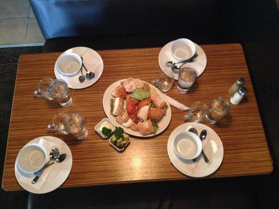 Melizana: Lunch variety