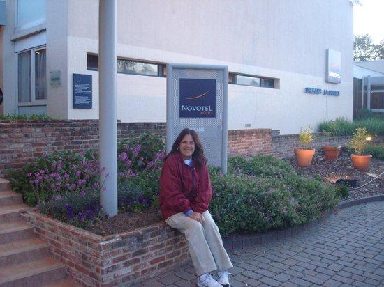 Novotel Orleans La Source: Entrada del hotel