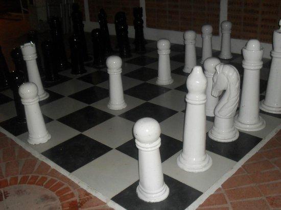 Buenaventura Grand Hotel & Great Moments All Inclusive: ajedrez!!!