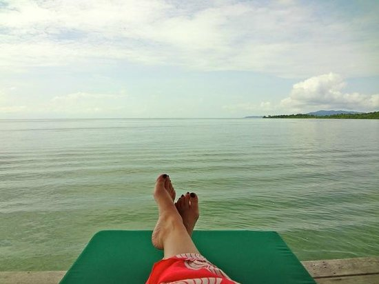 Telunas Beach Resort : Views