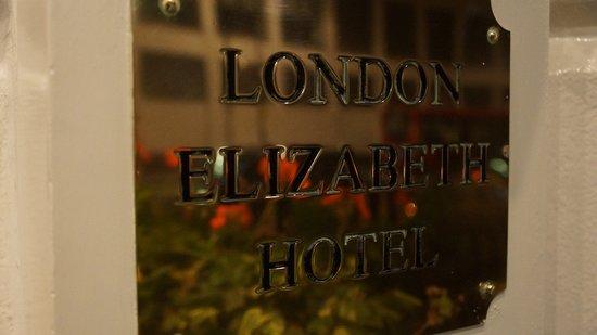 London Elizabeth Hotel: Entrance