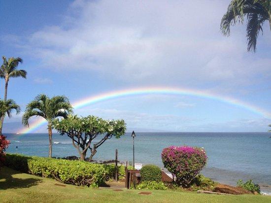 The Kuleana Resort: Rainbows abound