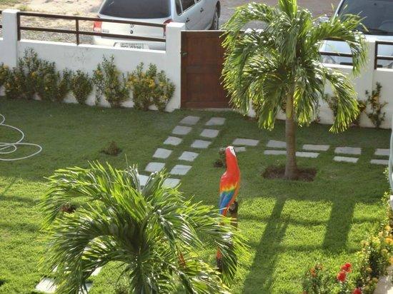 Pousada Porto de Galinhas: Jardim. Próximo a piscina.