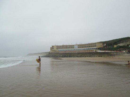 Praia Grande: Пляж и отель