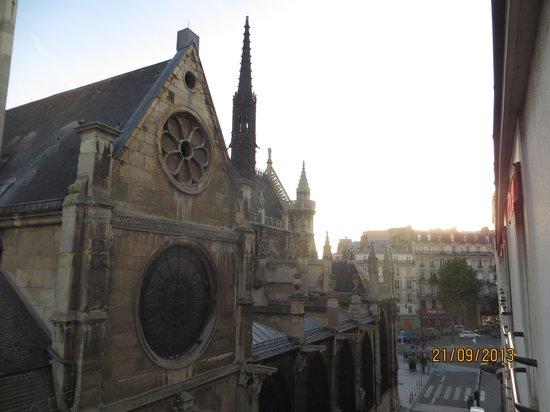 Sibour Hotel: Вид из окна
