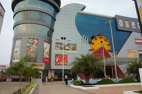 Raipur, Indie: Colors Mall - facade,2