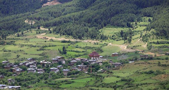 Kurje Lhakhang: Ura Valley