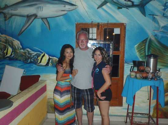 Sharky's Mesquite Grill : Family Employees and Me