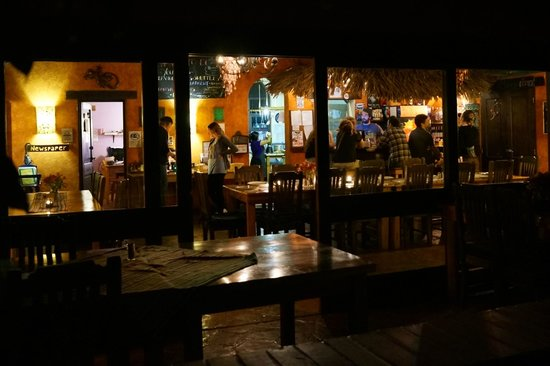 La Iguana Perdida Hotel: The restaurant/bar/lounge