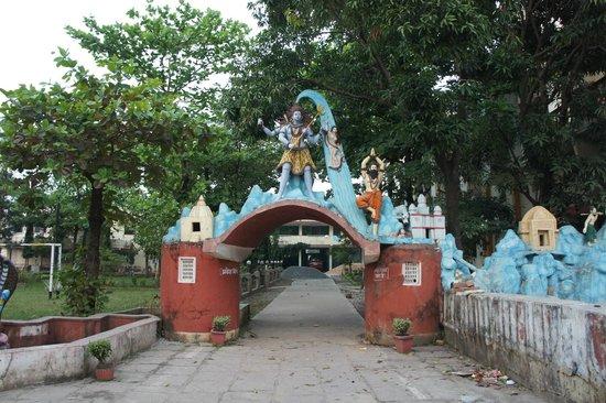 Raipur, India: gate