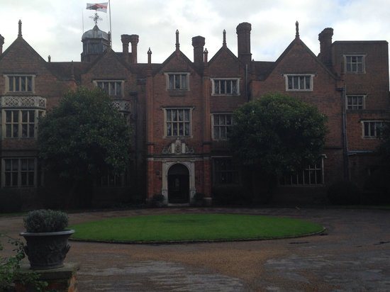 Afternoon Tea at Great Fosters: Outside entrance